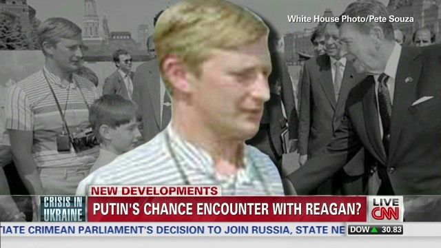 News video: Does photo show Putin meeting Reagan?