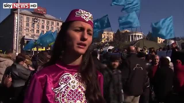 News video: Crimea Minorities fear Russian rule