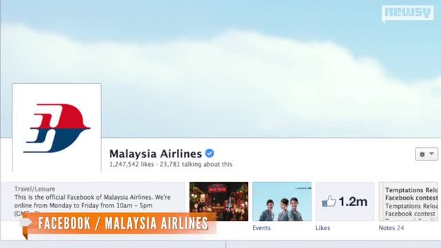 News video: Malaysia Airlines Plane Goes Missing Mid-Flight