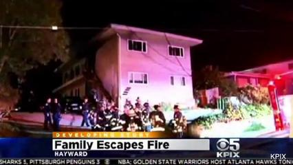 News video: Toddler Thrown From Window of Burning Building