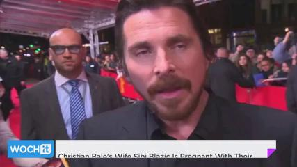 News video: Christian Bale's Wife Sibi Blazic Is Pregnant With Their Second Child!