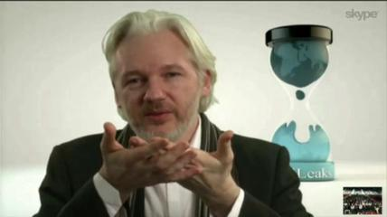 News video: Julian Assange Appears at South by Southwest
