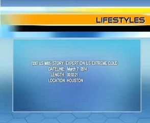 News video: (0307 LS M05) EXPERT ON US EXTREME COLD